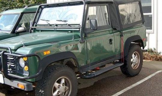 1994 Defender 90 - Frame & Rust Repair