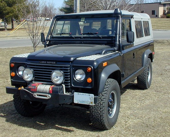 1994 Land Rover Defender 90 to 110 Conversion
