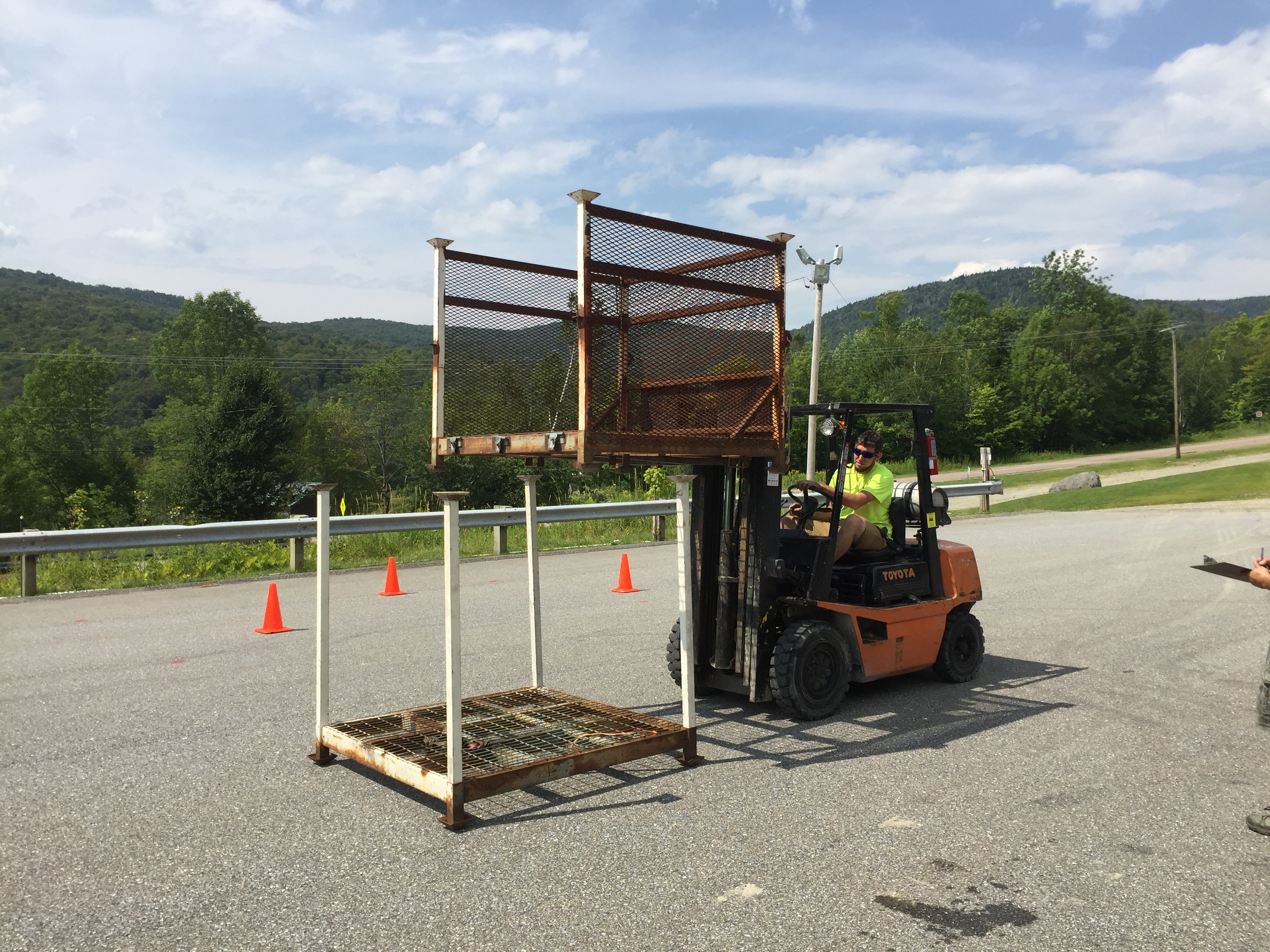 Vermont OSHA Fork Lift Training